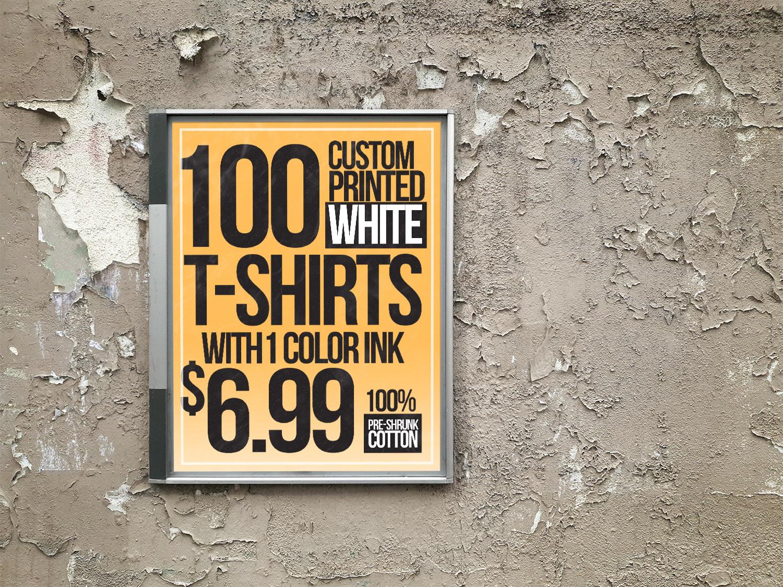 Custom Shirt ad